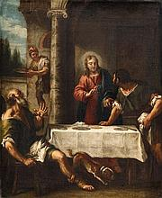 Venetian School 18th century, Christ at Emmaus