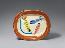 Pablo Picasso, Quatre poissons polychromique, 1947