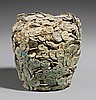 A Vietnamese block of coins. Possibly 15th century