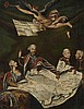 German School of the late 18th century, Allegory of the Partition of Poland