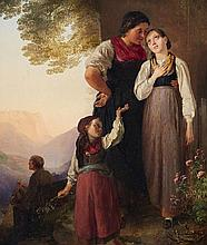 Ludwig Knaus , The Farewell