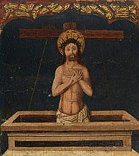 Spanish School of the late 15th century, Christ as Man of Sorrows