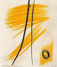 Hans Hartung, Untitled, 1974
