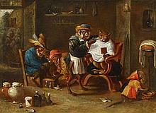 Ferdinand van Kessel, The Monkey Barber