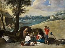 David Teniers the Younger, Landscape with Peasants at Rest