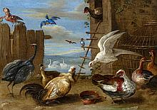 Jan van Kessel the Elder, attributed to, Caged Birds