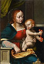Antwerp School circa 1560, The Virgin with Child