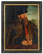 German School of the 16th century, Portrait of Count Wolfgang zu Stolberg and Wernigerode
