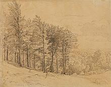 Ludwig Richter, A Wooded Landscape