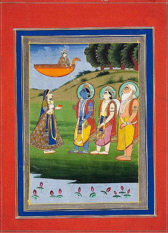 Anonymous. Rajasthan, Jaipur. Mid 19th century