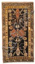 A Khotan wool carpet. Around 1900