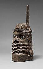 A BENIN WOOD HEAD