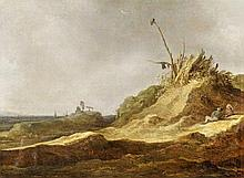 Jan van Goyen, attributed to, The Sand Dunes