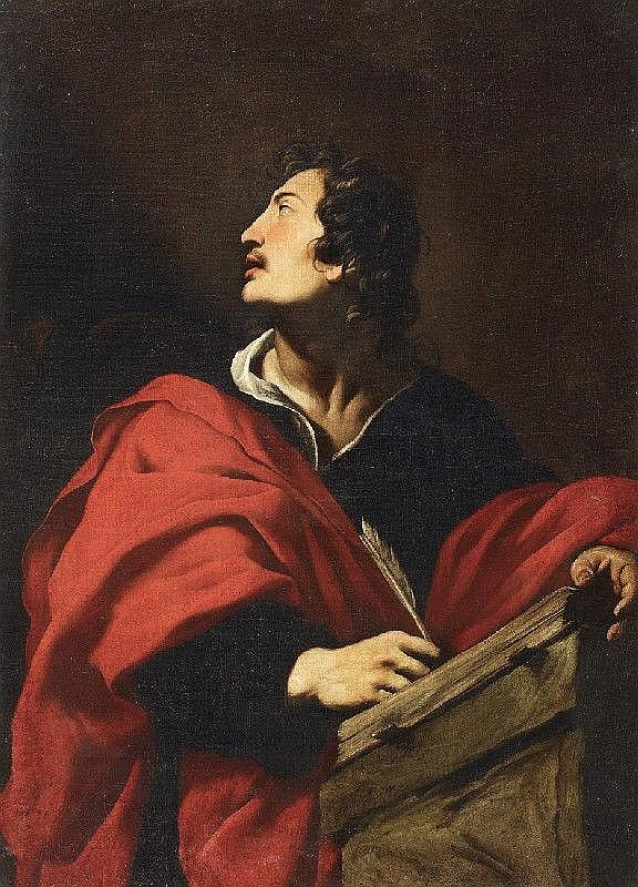 NOVELLI, called Il MONREALESE, SAINT JOHN, oil on canvas (relined), 134 x 97 cm
