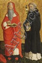 CRISTOFORO DI BENEDETTO, SAINT JEROME AND SAINT DOMINIC, Tempera on panel, >>> 90.5 x 59.5 cm
