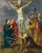 PETER PAUL RUBENS, studio of, THE CRUCIFIXION, oil on copper, 32.5 x 25 cm