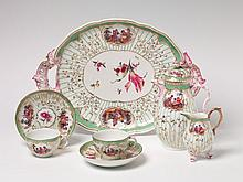 A KPM porcelain tête-à-tête with scenes after