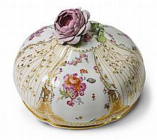 A KPM porcelain cloche from the 1st Potsdam