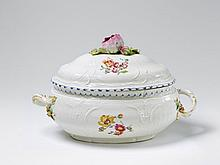 A KPM porcelain tureen made for Diede zu