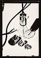 HANS FINSLER, Elektrische Birne mit Teilen der Fassung (Electric bulb with screw fitting), 1928