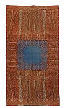 A very large Kashmiri wool shawl. Late19th century