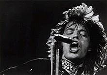 Barbara Klemm, Mick Jagger, Frankfurt, 1970