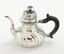 A Cologne silver teapot. Marks of Hermann Joseph