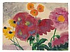 Emil Nolde, Rote und gelbe Blüten, Circa 1950, Emil Nolde, €65,000