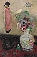 Gustave De Smet, Nature morte aux anémones, 1915
