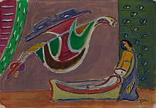 Werner Gilles, Todesengel, Circa 1947