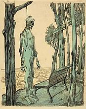 George Grosz, Herberts Ruh, 1912