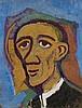 Karl Hofer, Männlicher Kopf nach links, Circa 1952, Carl Hofer, €5,500