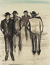 Anton Räderscheidt, Ohne Titel (Figurengruppe), 1926
