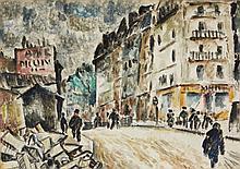 Eduard Bargheer, Untitled (Stadtansicht Paris), 1926