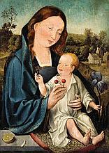 Netherlandish School circa 1500, The Virgin and Child