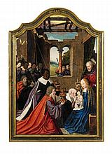 Master of the Morrison Triptych, attributed to, The Adoration of the Magi