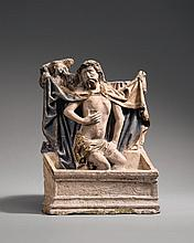 A devotional image of Christ as the man of sorrows, probably Utrecht, circa 1480