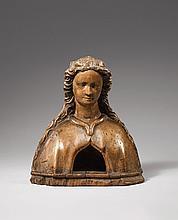 A Swabian reliquiary bust, circa 1470