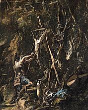 Alessandro Magnasco, called Il Lissandrino, A Hunter Gutting an Animal