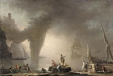 French School, View of a Harbour amid Morning Mists