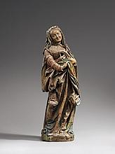 A figure of Saint Catherine attributed to Daniel Mauch, circa 1535