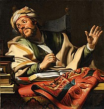 Gerrit van Honthorst, The Steadfast Philosopher