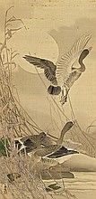 A hanging scroll by an unidentified painter of the Meiji period