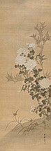 A hanging scroll by Beishû. Early 20th century