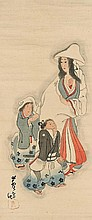 A hanging scroll. Early 20th century