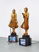 Nam June Paik, Temple guards, 1993