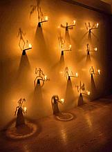 Christian Boltanski, Untitled (Les Bougies, Lessons of Darkness), End of 1980s