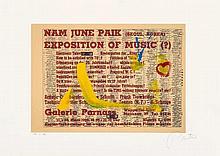 Nam June Paik, 11.- 20. März 1963, 1991