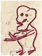 Donald Baechler, Untitled (Skeleton), 1983