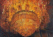 Frank Bauer, Kron-Leuchter I, 1989